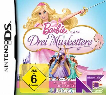NintendoFansde  Barbie und die Drei Musketiere NDS