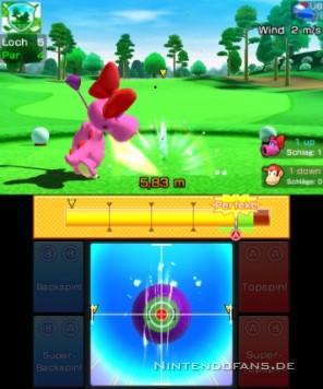 Birdo spielt Golf