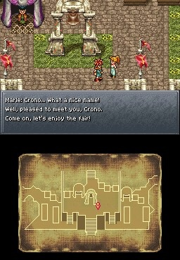 Screenshot aus Chrono trigger DS