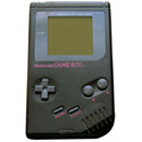 Game Boy in schwarz