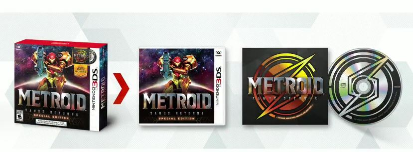 Metroid: Samus Returns - Special Edition