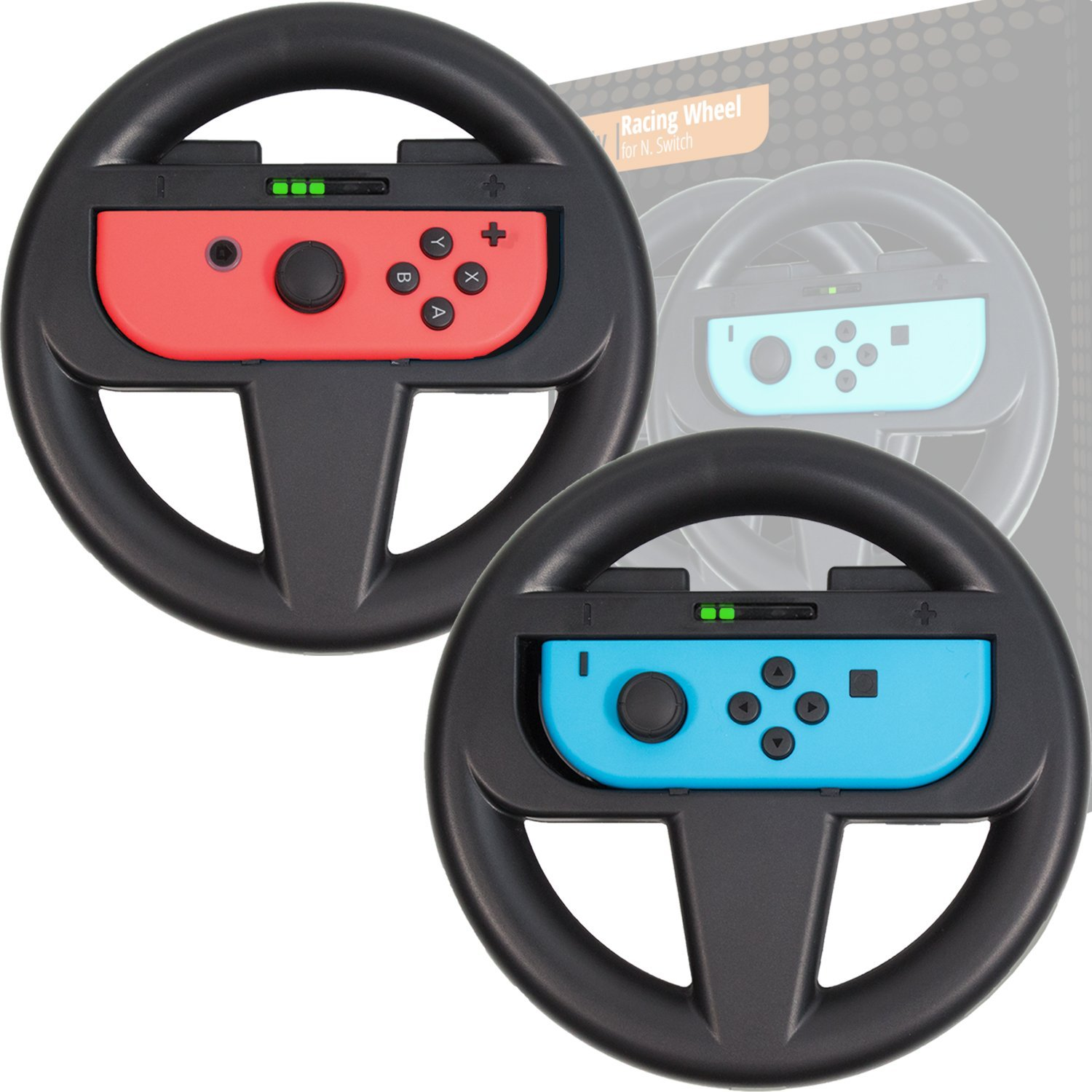 Orzly Racing Wheel for Nintendo Switch